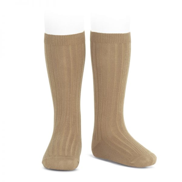 wide-ribbed-cotton-knee-high-socks-camel
