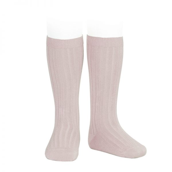 wide-ribbed-cotton-knee-high-socks-old-rose