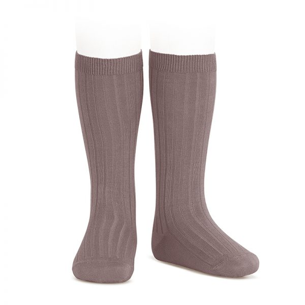 wide-ribbed-cotton-knee-high-socks-praline