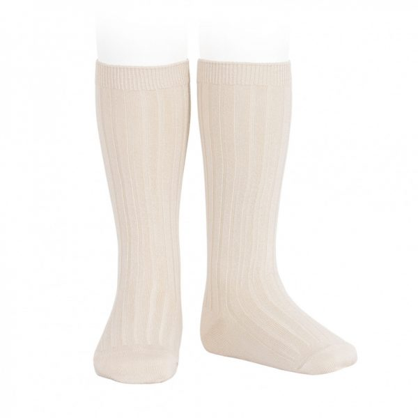 wide-ribbed-cotton-knee-high-socks-linen