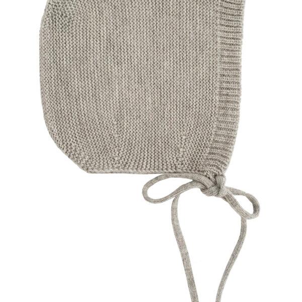 bonnet grijs