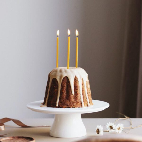 Ovo things verjaardagskaarsen bijenwas