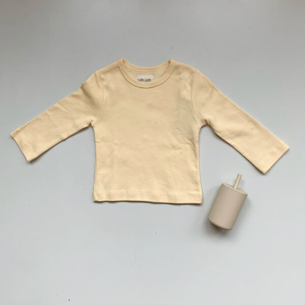 Lah Lan kids cream shirt