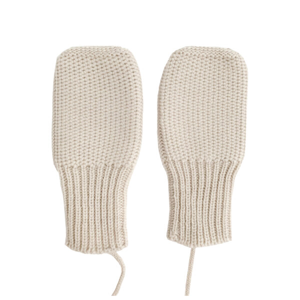 mittens off-white