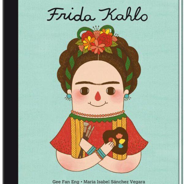 van klein tot groots boek Frida Kahlo