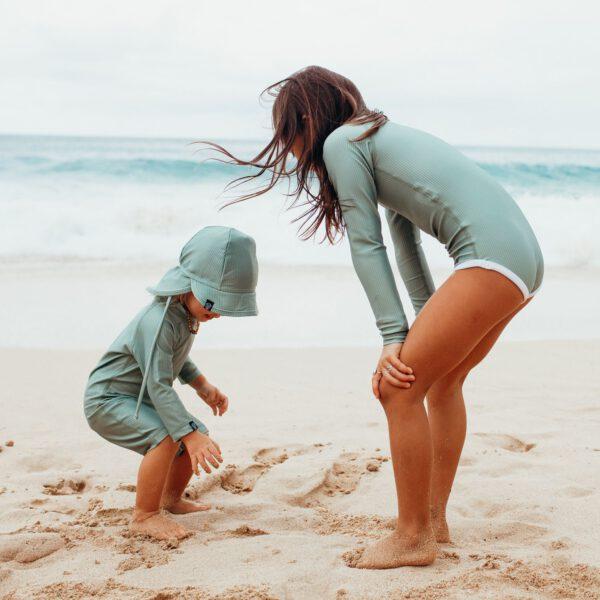 Beach and Bandits zwempak beach wear baby badpak Basil