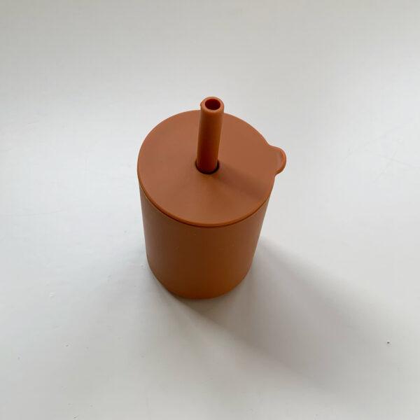 Siliconen drinkbeker brick 1