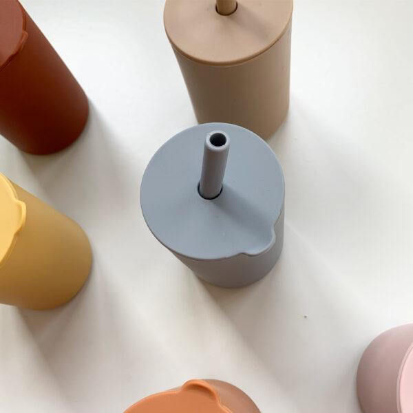 Siliconen drinkbeker meerdere kleuren 3