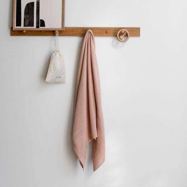 Hvid Blanket dekentje Deedee Apricot 2