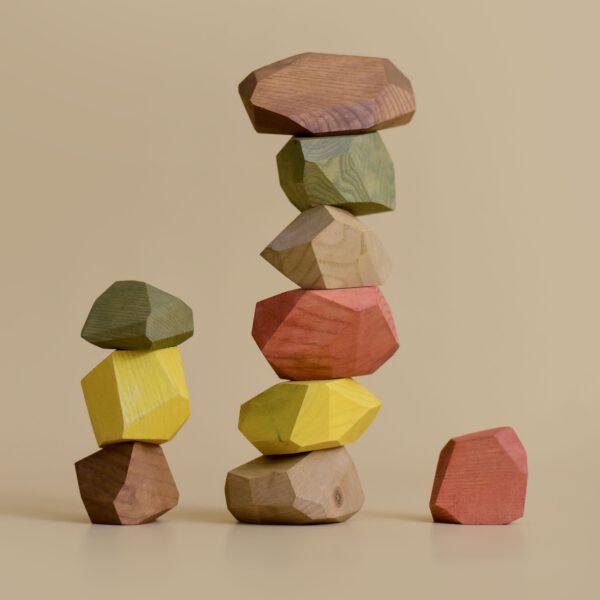 MinMin Copenhagen balacing stones earthy 2