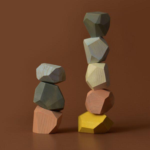 MinMin Copenhagen balancing stones pastel 3
