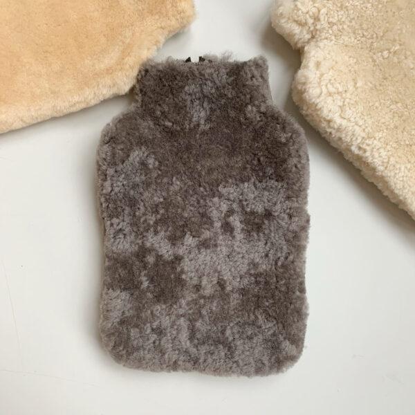 Shepherd sheepskin warm water case stone