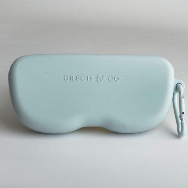 Grech & Co zonnebril houder siliconen light blue