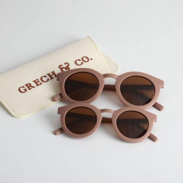 grech & Co zonnebril adult and kind burlwood