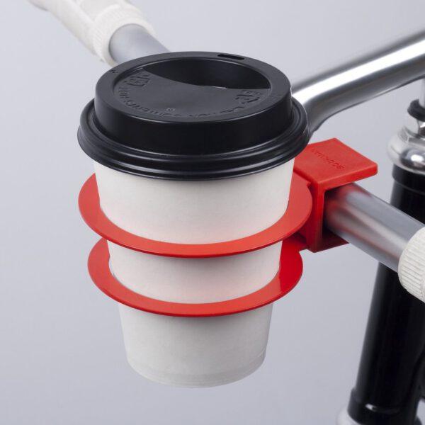 bookman koffiebekerhouder fiets rood 3