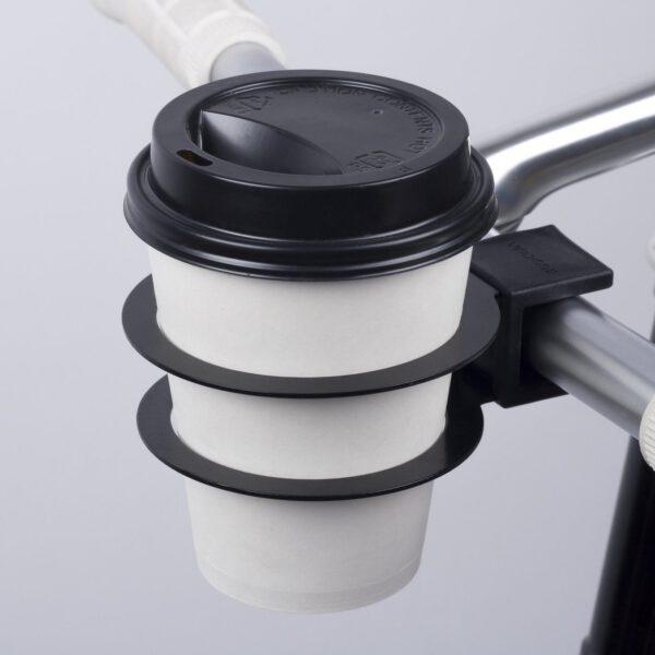 bookman koffiebekerhouder fiets zwart 3
