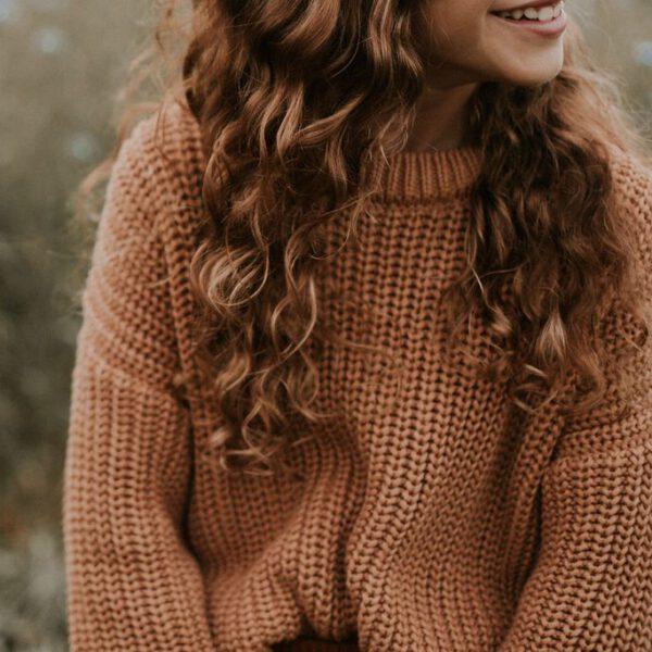 Yuki Sweater Coral 5